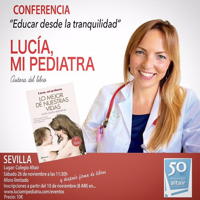 Próximos EVENTOS - Lucía, mi Pediatra.