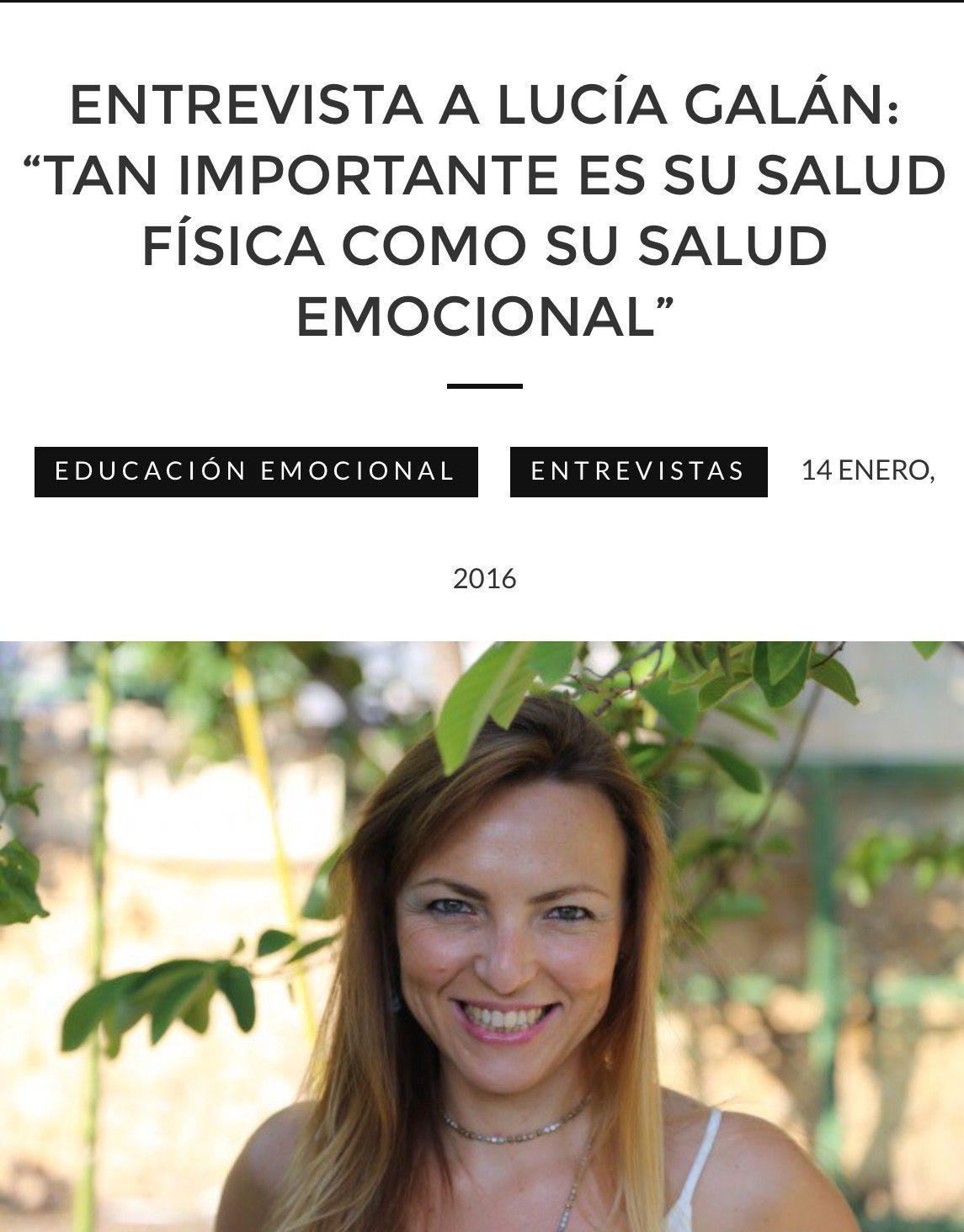 Entrevista Lucia Galán