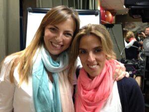 Lucía Galán y Andrea Zambrano