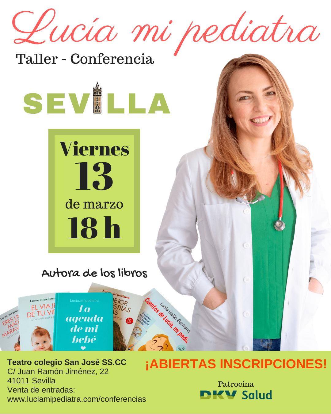 Lucía mi pediatra Sevilla